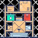 Parcel Racks Inventory Luggage Rack Icon