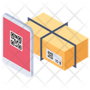 Barcode Reader Courier Delivery Package Delivery Icon