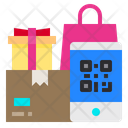 Smartphone Qr Code Package Icon