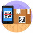 Package Scanning Parcel Scanning Box Scanning Icon