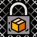 Package Padlock Protectedbox Icon
