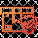 Parcel Security Parcel Protection Box Icon