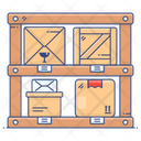 Parcel Shelves Parcel Racks Inventory Icon