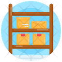 Parcel Shelves Parcel Racks Inventory Racks Icon