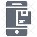Parcel Tracking Mobile Place Order Icon