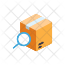 Tracking Parcel Find Icon