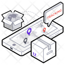 Delivery Tracking Order Tracking Parcel Tracking Icon