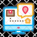 Parcel Destination Postal Icon