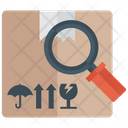 Parcel Tracking Supervision Shipment Search Icon