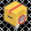 Parcel Scanning Qr Scanning Parcel Tracking Icon