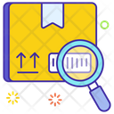 Parcel Scanning Qr Code Scanning Parcel Tracking Icon
