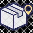 Online Parcel Parcel Parcel Tracking Icon