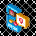 Airplane Application Box Icon