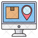 Location Delivery Shipping Icon