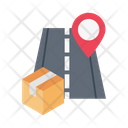 Location Parcel Delivery Icon