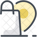 Parcel Delivery Pin Icon