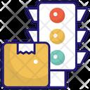 Parcel Traffic Icon
