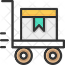 Trolley Parcel Trolley Package Icon