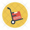Trolley Handtruck Shipping Icon