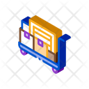 Parcel Trolley Warehouse Icon
