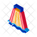 Slide Going Down Icon