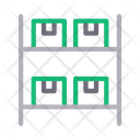 Parcel Warehouse Icon