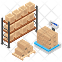 Parcel Weighing Icon