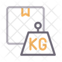 Kg Weight Parcel Icon