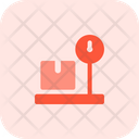 Parcel Weight Box Weight Weight Scale Icon