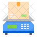 Parcel Weight Scale Delivery Parcel Weight Scale Weight Scale Icon
