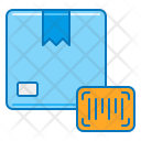 Parcel With Barcode Icon