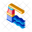 Water Level Meter Icon