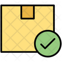 Delivered Package Shipped Parcel Checkmark Icon