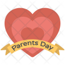 Parent Day Banner Icon