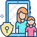 Parental Controls Protect Child Parental Icon