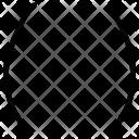Parentheses Brackets Algebra Icon