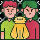 Parents Cat Pet Icon