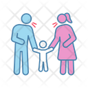 Parents scolding child Icon