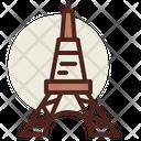 Paris Monuments City Icon