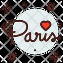 Paris Love Icon