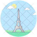 Paris Monument Icon