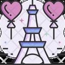 Paris Tower Eiffel Tower Celebration Icon