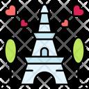 Paris Tower Paris Love Icon