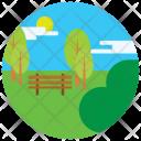 Park Garden Greenery Icon