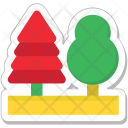 Park Trees Ecology Icon