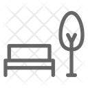 Park Bench City Icon