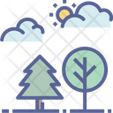 Park Forest Outdoors Icon