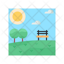 Park Summer Nature Icon