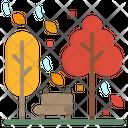Park Autumn Tree Icon