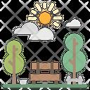 Park Tree Cityscape Icon